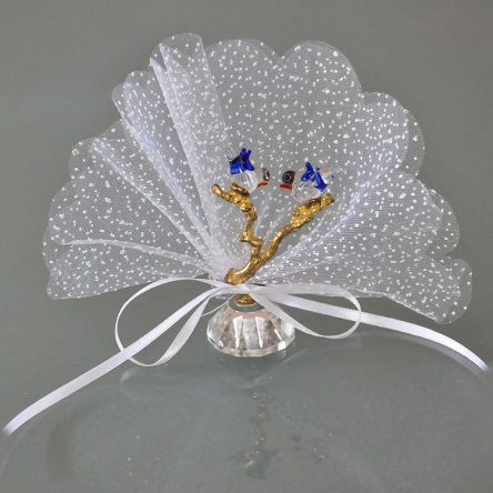 Kristal Kuşlu Nikah Şekeri